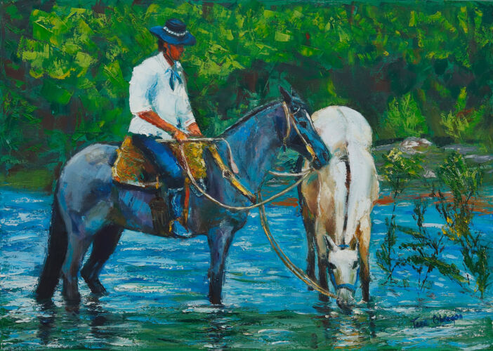 Pintando caballos