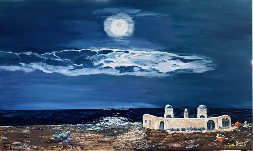 Noche de paz en Cabo Blanco